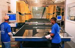 Computerized glass cutting